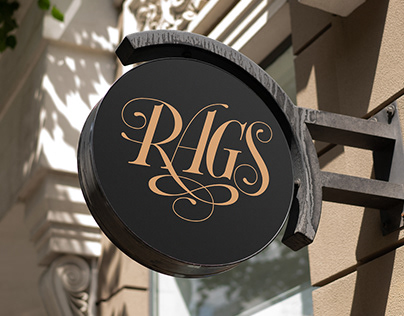 RAGS New and Used Clothing Logo