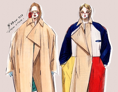 Fashion illustrations #1