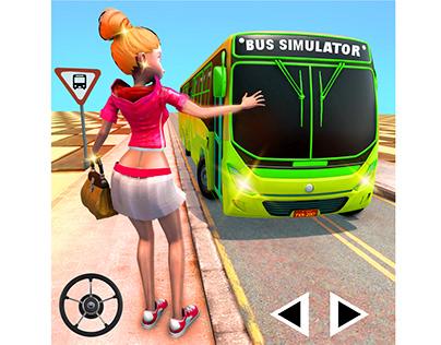 Modern bus simulator