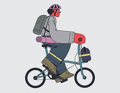 Barcelona's Bike Way