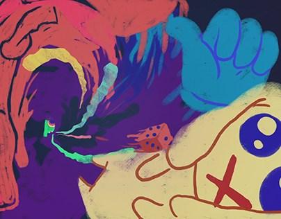 CREATIVE PROCESS - Animated Loop