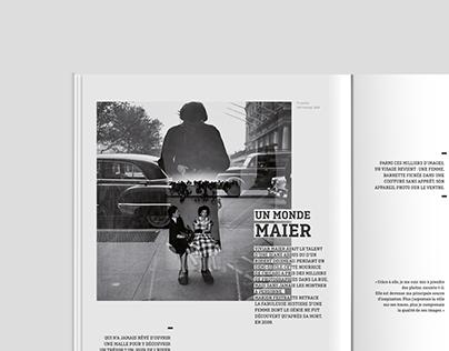 -EDITION-MISE EN PAGE-MAGAZINE-VIVIAN MAIER-
