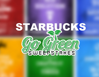 Starbucks Go Green Sweepstakes