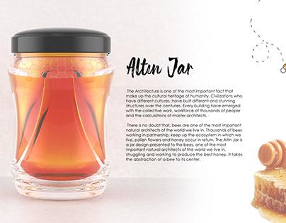 Altın Jar - Honey Jar Design