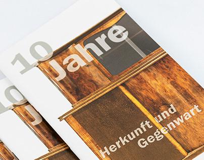 Rauch Museum | 10 Jahre Broschüre
