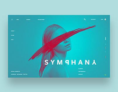 Symphany Ui Design Concept