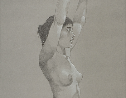 Weight Series: Large Scale Figure Drawings