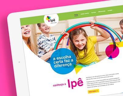 Creche Ipê   Website Institucional