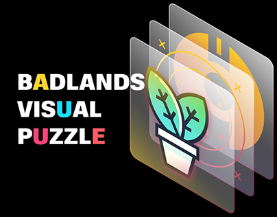Badlands visual puzzle