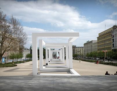 "Memorial ""90 years of interior architecture in UAP"""