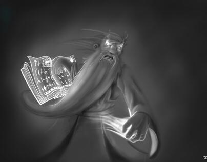 Thror El Sangriento - Ilustration