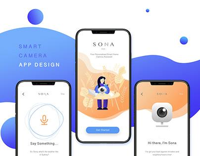 Smart Camera App Ui Design