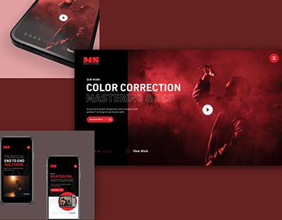 MS Digital Website
