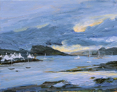 Looking to Loch Carron by Tracy Butler