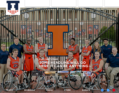 [WIP] Illini Wheelchair Basketball Redesign