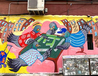 ChinatownMuralProject - MahjongSocial