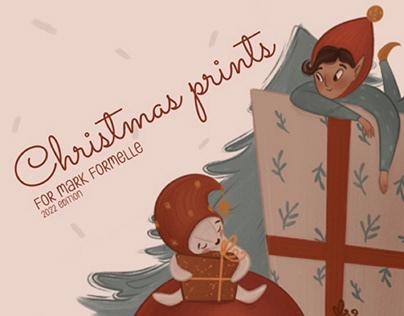 Christmas prints for MF