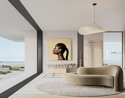 MASTER SUITE 2021 | CGI INTERIOR