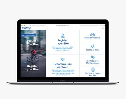 Bike Registration Website