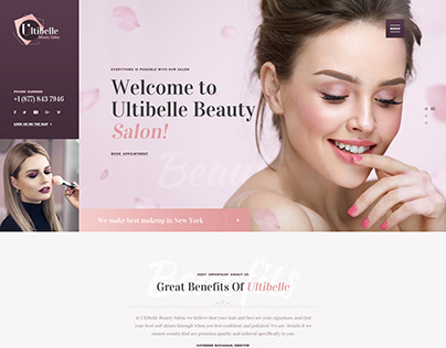 Ultibelle - Beauty Salon, Hairdresser & Nail Center