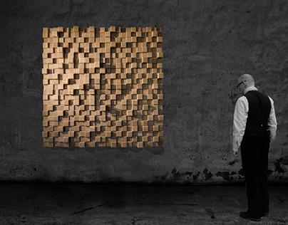 GEOMETRIC WALL ART N° 20031