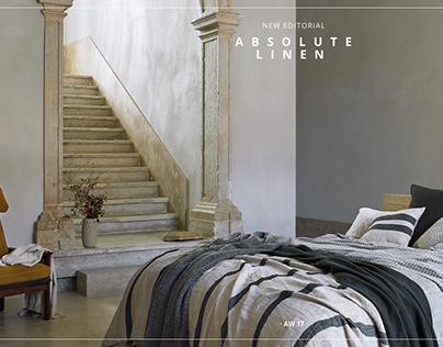 Zara Home FW17-18 // Absolute Linen