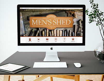 Montrose Men's Shed Website