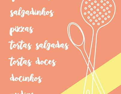 Cartão de visitas // Delícias da Déia