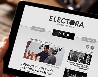 ELECTORA - Plateforme de vote en ligne