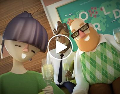 Happy 2018 from Chemium | 3D Animation