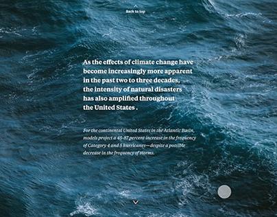 'The Deadly Impact of Rising Sea Levels' Interactive