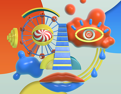 Portraits of Our Psyche: 3D Animated Loop