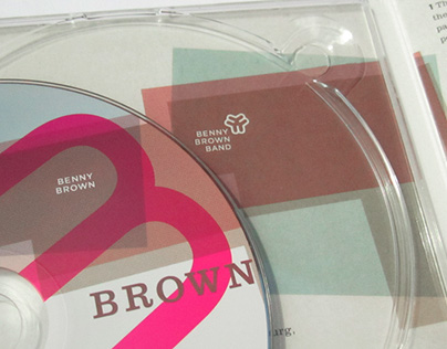 Benny Brown Band / BROWN (Corporate, Packaging)