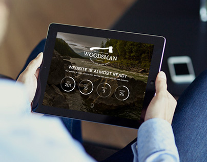 Woodsman - Responsive Coming Soon
