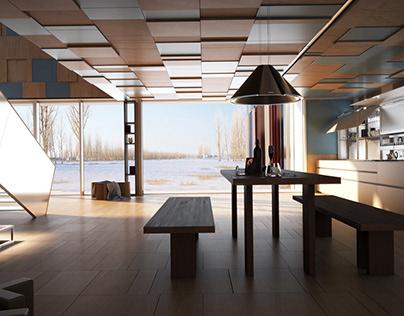 Interior design-private project