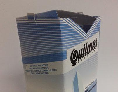 Envase Botella Quilmes Bersuit Vergarabat