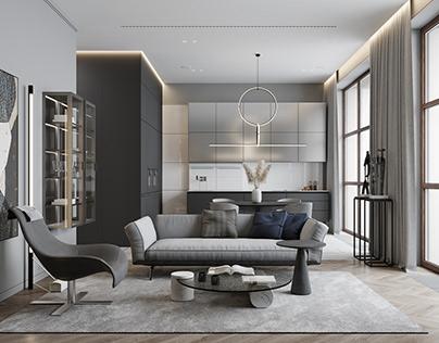 DE&DE/Design apartments in Moscow