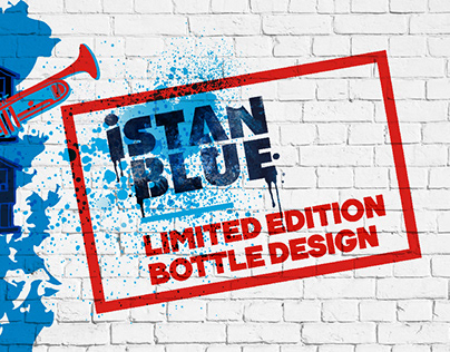 ISTANBLUE Vodka City & Music Special Edition Bottle