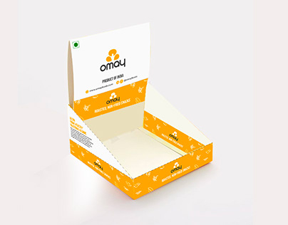 Counter Top Box Design - Omay Foods