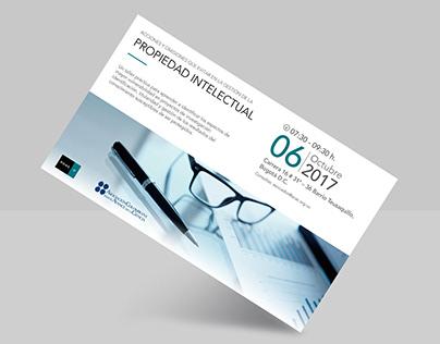 Invitación PONS IP Evento Prop. Intelectual Colombia