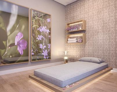 Sala de Massagem | RBulhões Studio