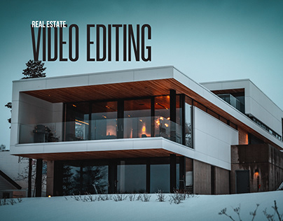 Real Estate Video Editing