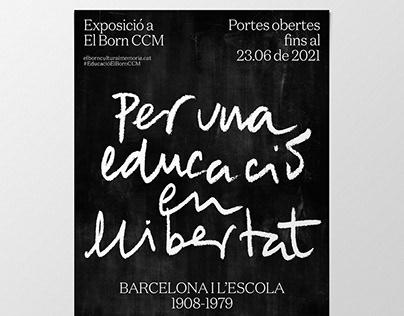 Per una educació en llibertat. Exhibition