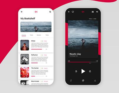 🎧 Aures - Audio book concept