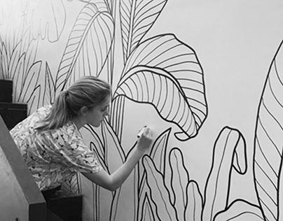 Mural Ramona Bakehouse