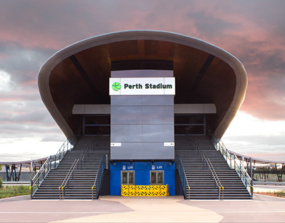 Perth Stadium Train Station