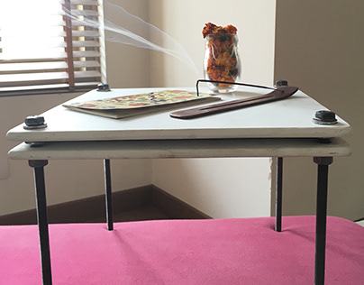 Flower Pressing Table