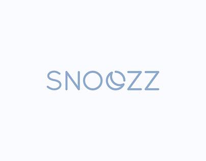 SNOOZZ Logo & Mockups (preliminary design)