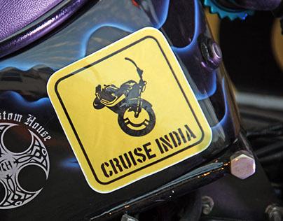 CRUISE INDIA Motor bike show