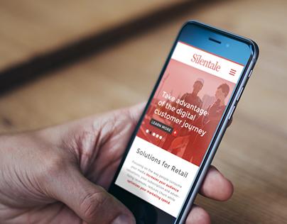 Silentale Customer Data Platform - Website Design
